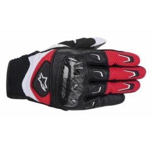 Alpinestars-SMX-2-Air-Carbon-Negro-Rojo-Textil-Piel