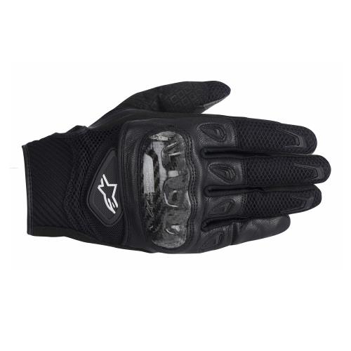 Alpinestars-SMX-2-Air-Carbon-Negro-Textil-Piel