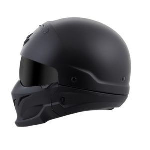 Casco-Moto-Covert-Scorpion-Retro-Solid-negro-Matte
