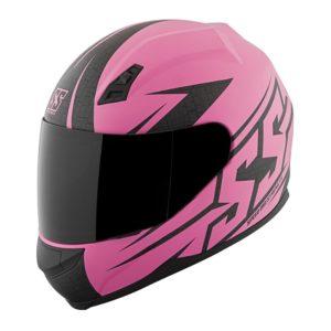 Casco-Para-Moto-de-Mujer-Hammer-Down-Rosa
