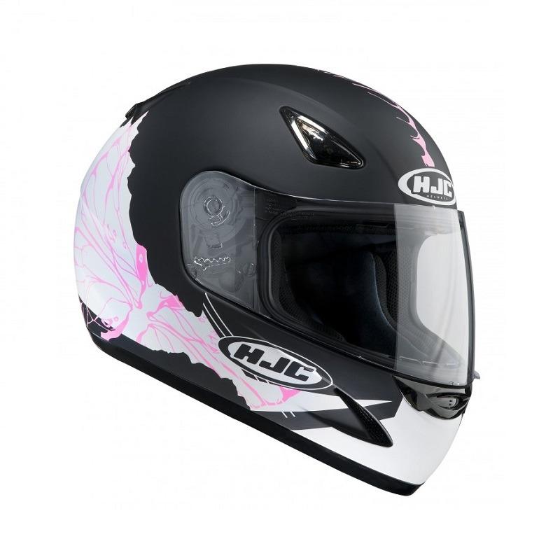 b52c375960c83 Casco Integral Mujer HJC CS-14 Coco Rosa - Negro Mate - Tienda Moto ...