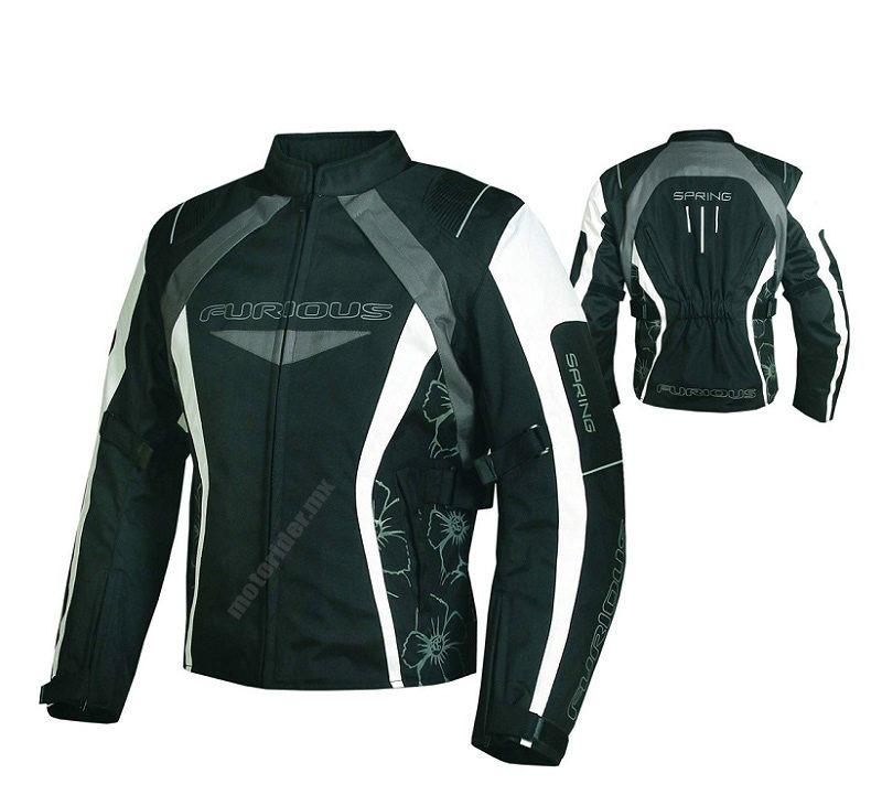 6847664b200 Chamarra Para Moto Mujer Furious Spring - Tienda Moto Rider México