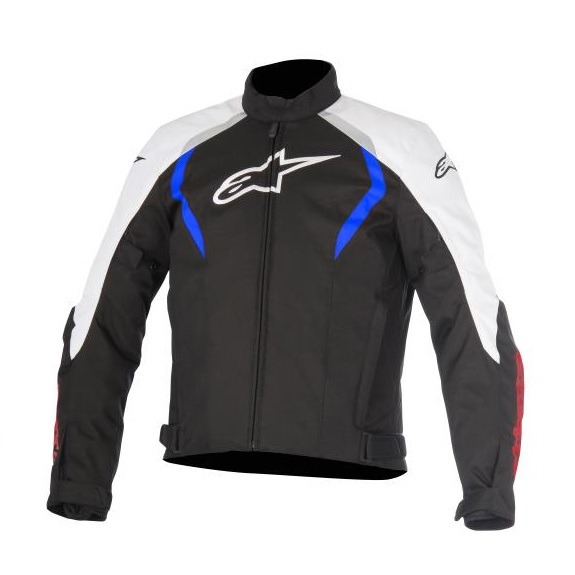 Chamarra-Para-Moto-Alpinestars-ALUX-Impermeable-Negro-Azul