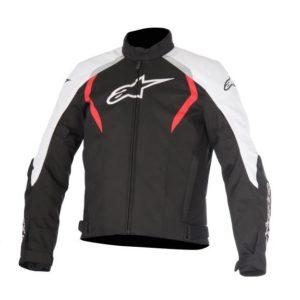 Chamarra-Para-Moto-Alpinestars-ALUX-Impermeable-Negro-Rojo