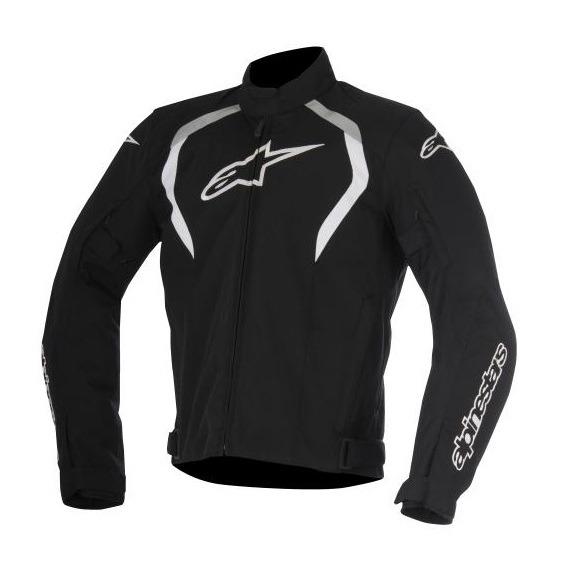 Chamarra-Para-Moto-Alpinestars-ALUX-Impermeable-Negro