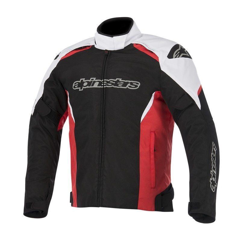 Chamarra-Para-Moto-Alpinestars-GUNNER-Negro-Blanco-Rojo