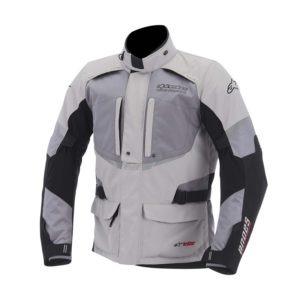 Chamarra-para-Moto-Alpinestars-Drystar-Andes-Negro-Gris-Claro