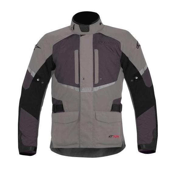Chamarra-para-Moto-Alpinestars-Drystar-Andes-Negro-Gris