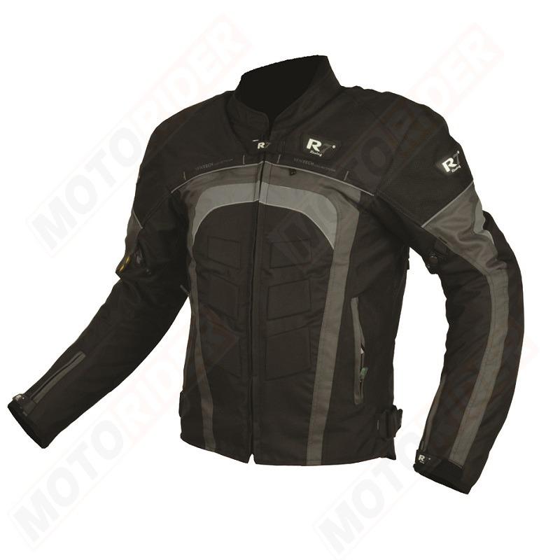 74917c49f2e Chamarra Para Moto R7-202 Negro-Gris - Tienda Moto Rider México