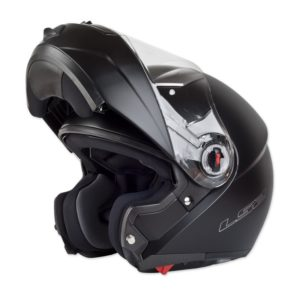 Casco-Para-Moto-Abatible-LS2-Easy-Negro-Mate-1