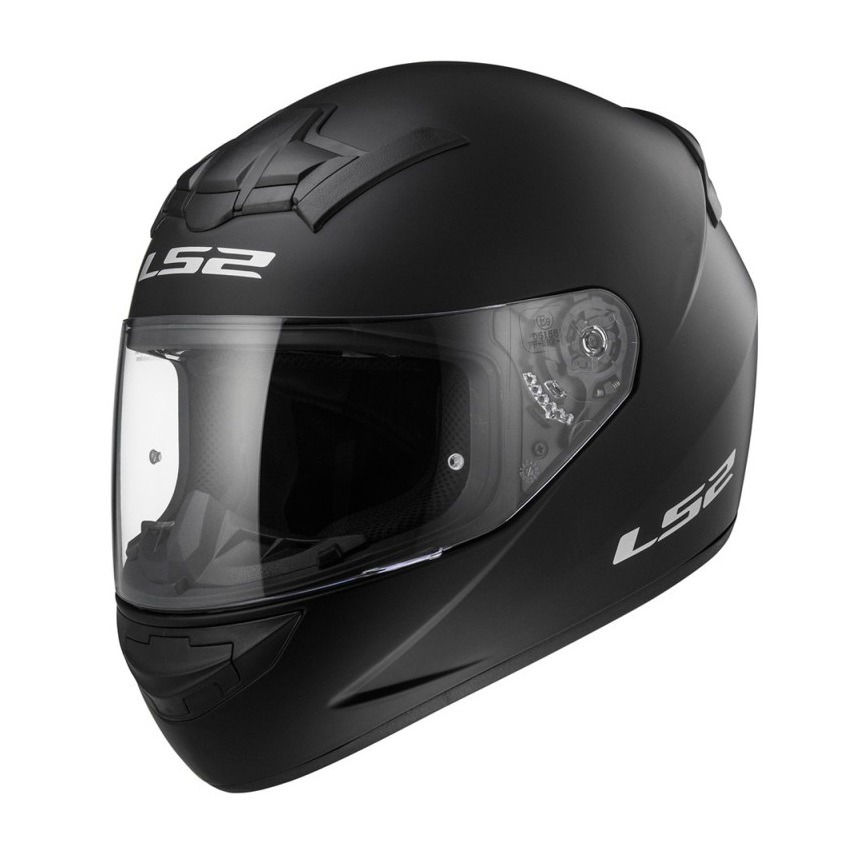 Casco Integral LS2 FF352 Rookie Negro Mate - Tienda Moto Rider México 0855f08da64