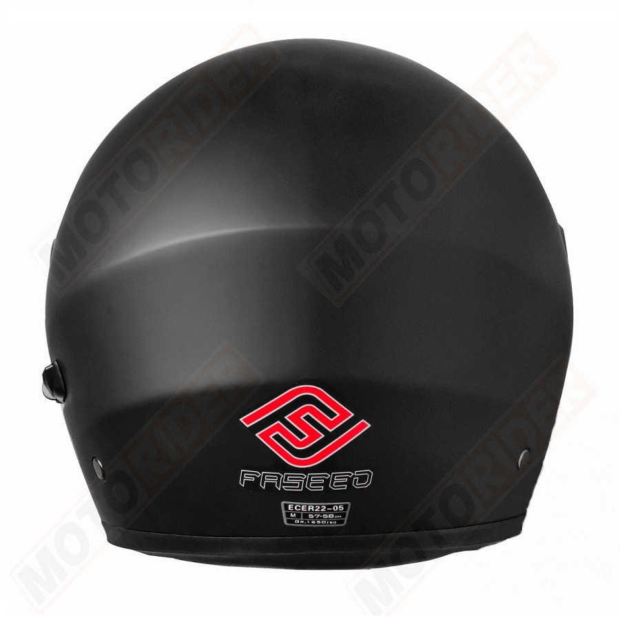 c991be7df7679 Casco Para Moto Faseed Abatible Negro Mate - Tienda Moto Rider México
