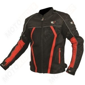 CHAMARRA DEPORTIVA R7 RACING ROJO R7-301 TEXTIL