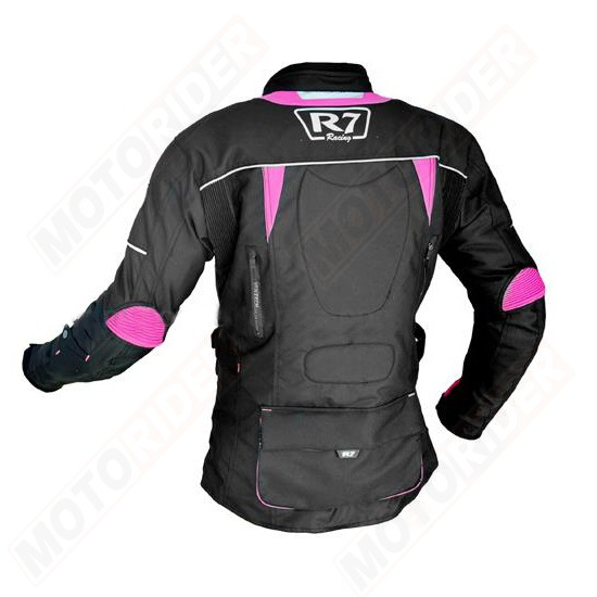 CHAMARRA DEPORTIVA R7 RACING ROSA R7-246 TEXTIL PDAMA-2