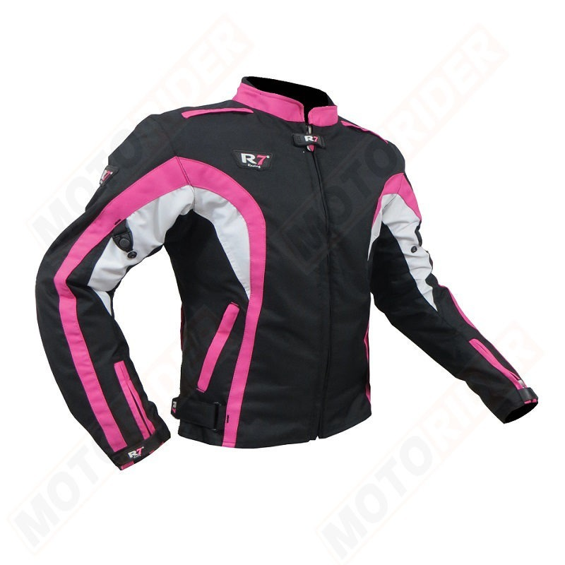 CHAMARRA DEPORTIVA R7 RACING ROSA R7-408 TEXTIL PDAMA-Final