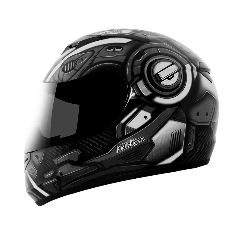 cb5df2cd6ad23 Casco Integral Rocket Force TITAN Gris S-06 - Tienda Moto Rider México
