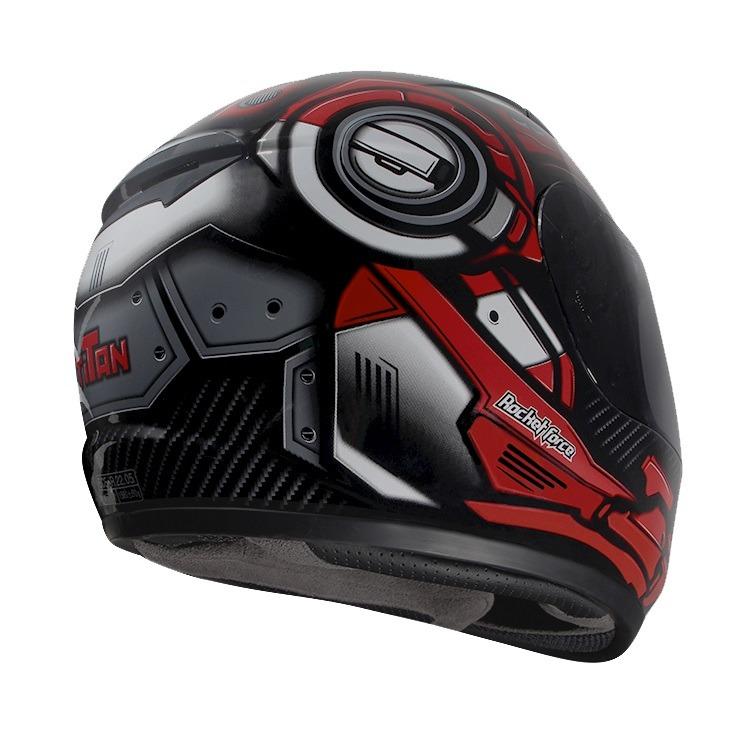 90099871a1b7b Casco Integral Rocket Force TITAN Rojo S-06 - Tienda Moto Rider México