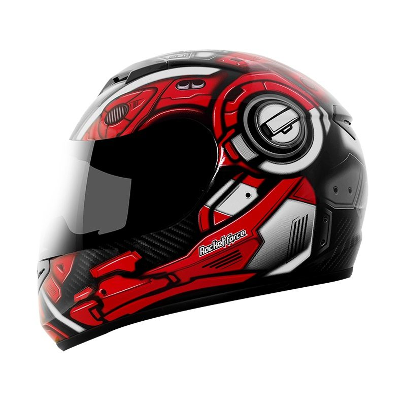 Casco-Moto-Rocket-Force-S-06-TITAN-Rojo