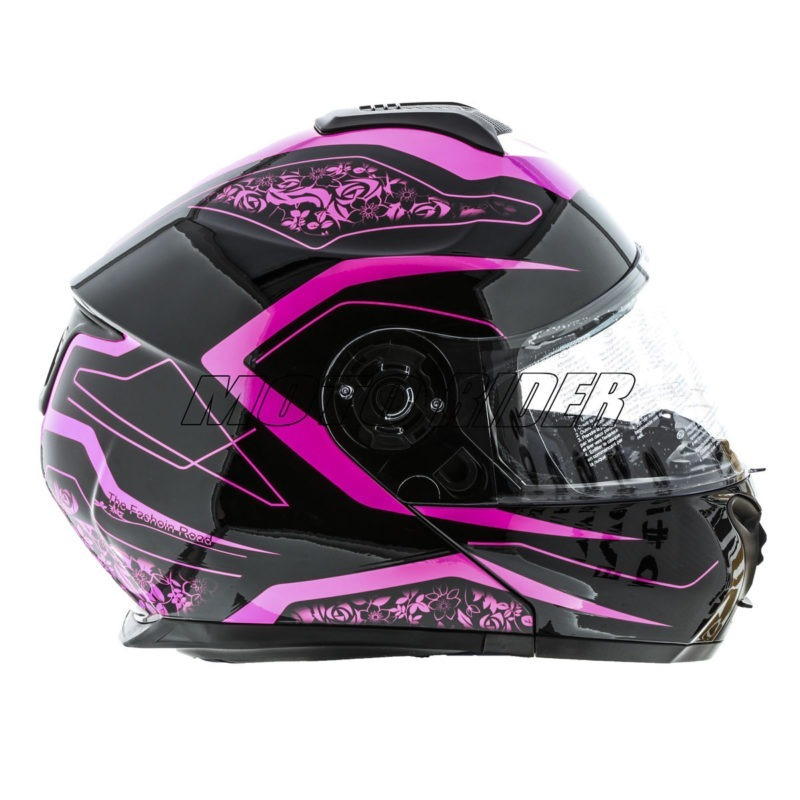 Casco-Abatible-Certificado-Mujer-Rosa-Negro-Fashion (5)
