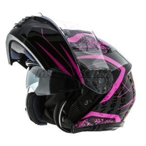 Casco-Abatible-Certificado-Mujer-Rosa-Negro-Fashion (6)