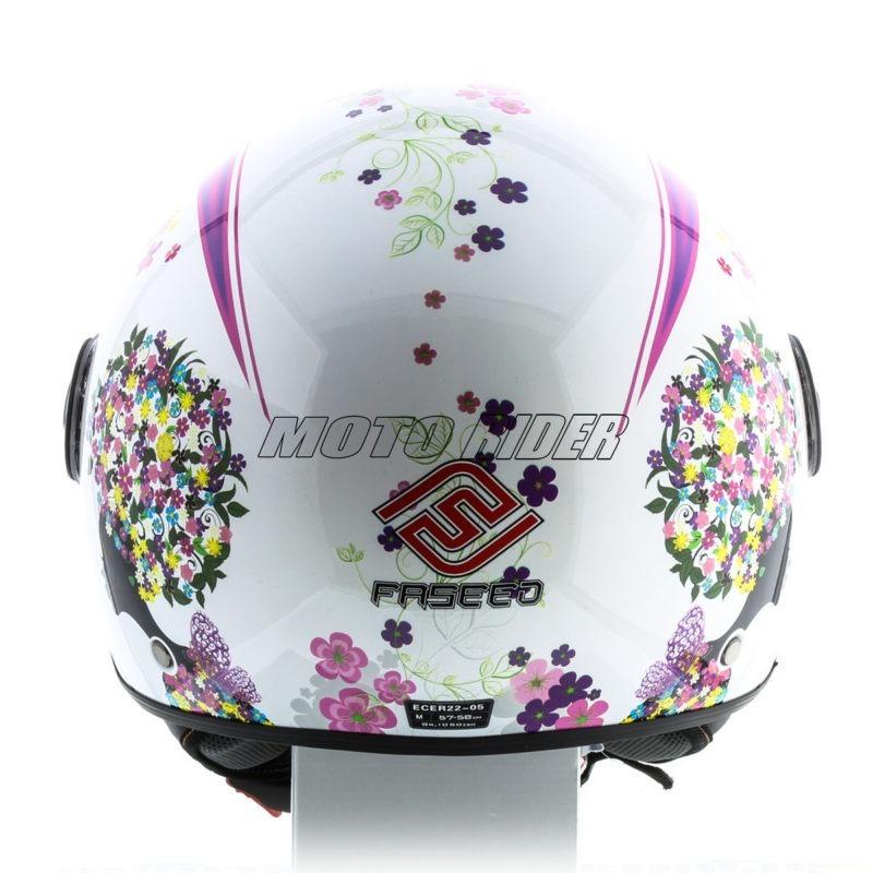 Casco-Moto-Mujer-Abierto-Jet-Rosa-Blanco (5)