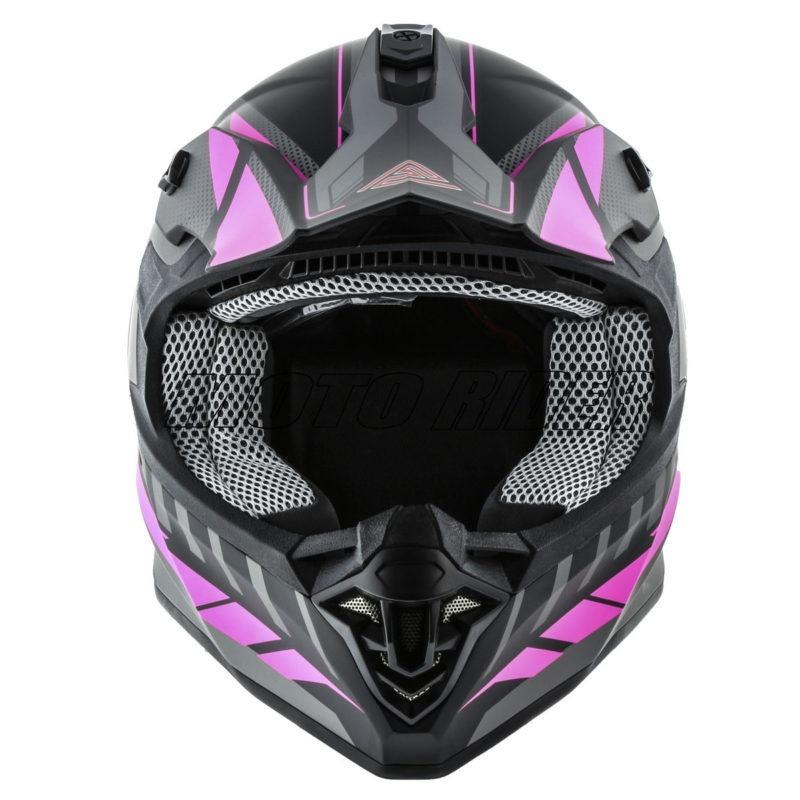 Casco-Motocross-Mujer-Mate-Magenta (5)