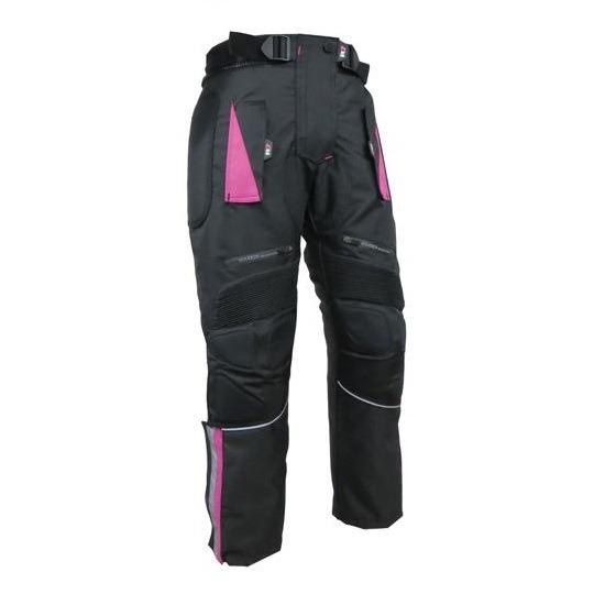 Motociclista Dama Protecciones R7 Con Rosa Para Pantalón DWEH29eIY