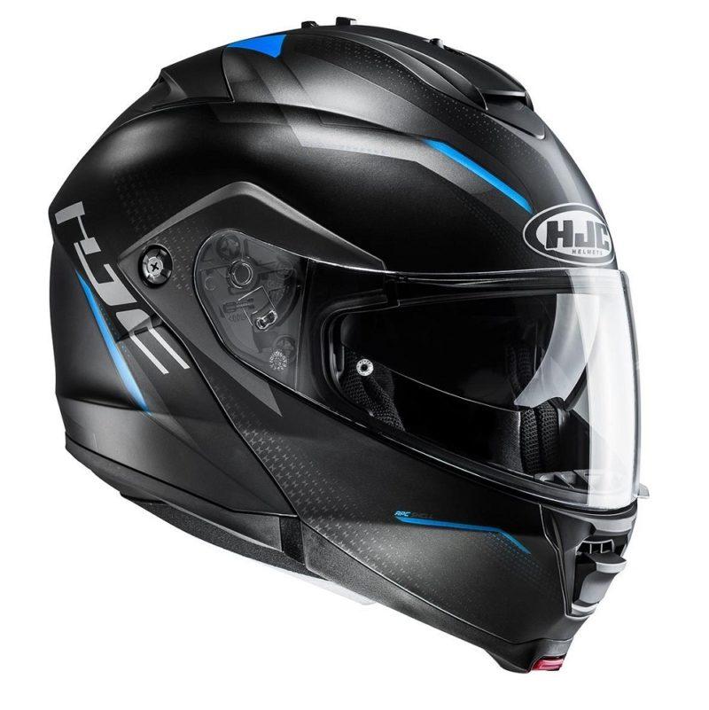 Casco-Moto-HJC-Abatible-Dova-Azul-IS-MAX II