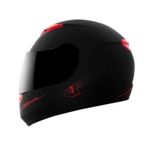 Casco S-09-VECTOR-Rojo