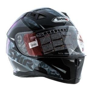 Casco Integral Shiro Mujer Aerodinamic Rosa