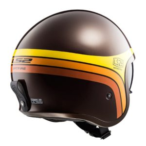 Casco Abierto LS2 Spitfire Cafe-Nja-Amarillo SUNRISE OF599 (2)