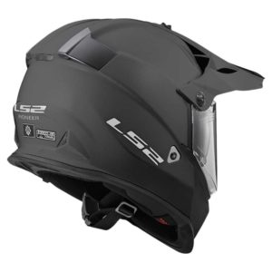 Casco Doble Proposito LS2 Cross City PIONEER Titanium-Mate MX436 (2)