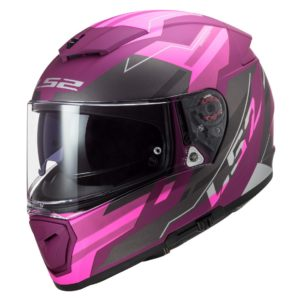 Casco Integral LS2 Mujer BREAKER BETA Purpura Mate FF390 (1)