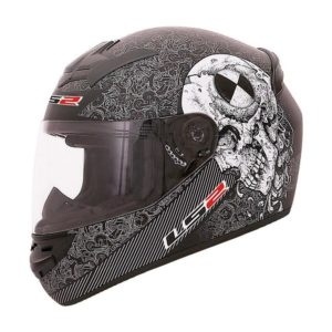 Casco Integral LS2 ROOKIE TEST MACHINE Negro Mate FF352 (1)