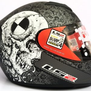 Casco Integral LS2 ROOKIE TEST MACHINE Negro Mate FF352 (2)