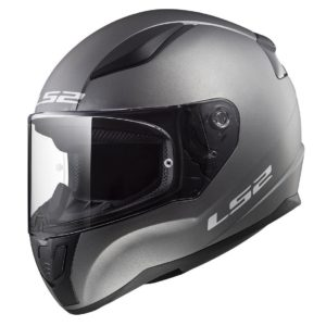 Casco Integral Moto LS2 RAPID Solid Titanium Mate FF353 (1)