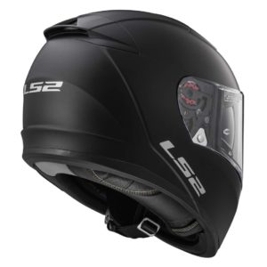 Casco para Moto Integral LS2 BREAKER Solid Negro Mate FF390 (2)