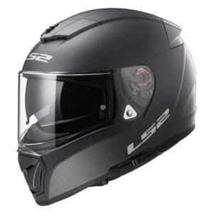 Casco para Moto Integral LS2 BREAKER Solid Titanium Mate FF390 (1)