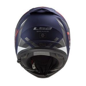 Casco Integral LS2 BREAKER Beta Rojo-Azul-Mate-FF390-2