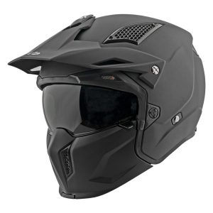 Casco Jet Moto Joe Rocket RKT 24 Negro Mate Solido (1)
