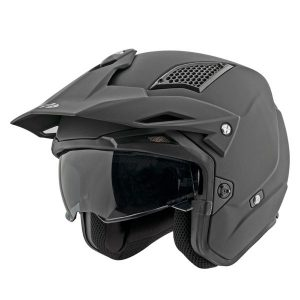 Casco Jet Moto Joe Rocket RKT 6 Negro Mate Solido (1)