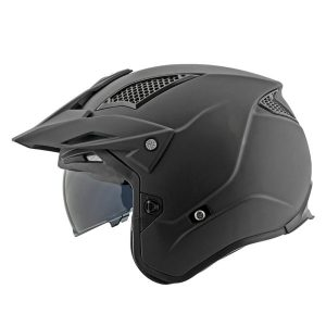 Casco Jet Moto Joe Rocket RKT 6 Negro Mate Solido (3)