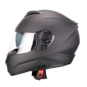 CASCO-FASEED-FS-908-ABATIBLE-Solido-Negro-Mate