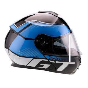 Casco Para Moto Faseed Abatible Azul-Negro FS-907 GT